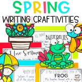 At Home Learning Spring Writing Craftivity