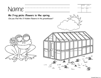 Spring Fun Worksheets with Animals Through the Alphabet
