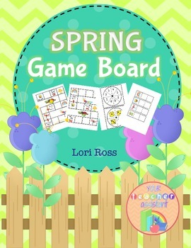 Game Board FREEBIE! {Spring Theme}
