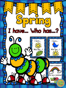 """Spring - Game """"I have... Who has...?"""""""
