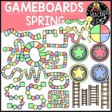 Spring Gameboard Clip Art Set {Educlips Clipart}