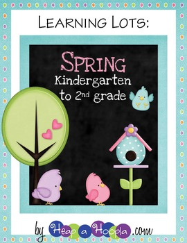Spring Games and Activities for Kindergarten, First and Second Grades