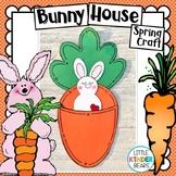 Spring Garden Bunny House Craft