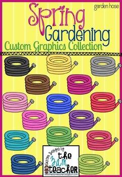 Spring Garden Clip Art: Garden Hoses