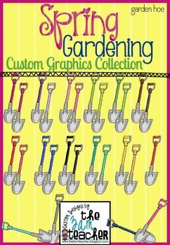 Spring Garden Clip Art: Garden Shovels
