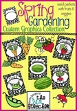 Spring Garden Clip Art: Seeds, Fruits & Veggies