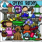 Spring Garden Clip Art Set - Chirp Graphics
