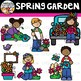 Spring Garden Clipart {Spring Clipart}