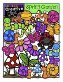 Spring Garden: Spring Clipart {Creative Clips Digital Clipart}