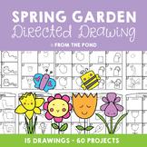Springtime Garden Directed Drawing