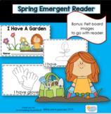 Spring Garden Emergent Reader
