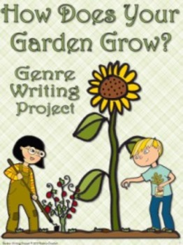Spring Garden Genre Writing Project, aligned to 2nd, 3rd, 4th grade CCSS