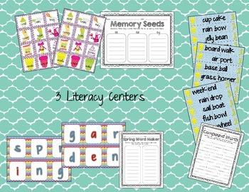 Spring Garden Literacy and Math Centers
