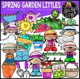 Spring Garden Littles Clip Art Set {Educlips Clipart}