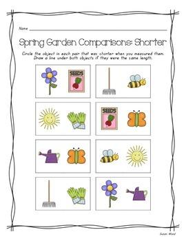 Spring Garden Measurement