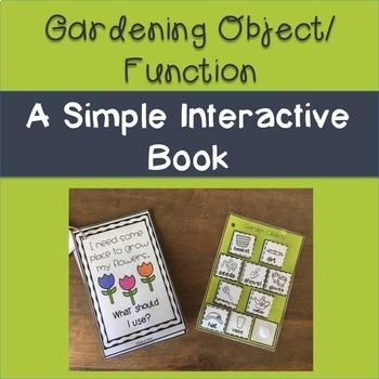 Spring & Garden Object/Function Interactive Book