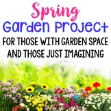 Plant Lapbook and Gardening Project