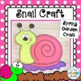 Spring Garden Snail Craft