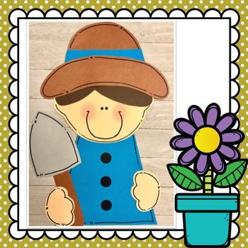 Spring Gardener Kids Craft