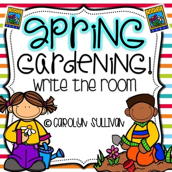 Spring Gardening: Write the Room