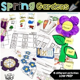 Spring Gardens {Math and Literacy activities}