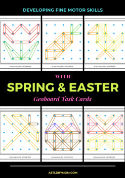 Spring Geoboard Card Activites