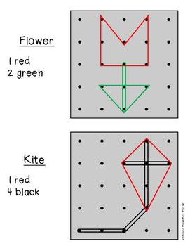 Spring Geoboard Patterns