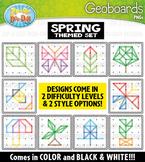 Spring Geoboards Clipart {Zip-A-Dee-Doo-Dah Designs}