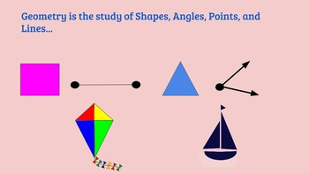 Spring Geometry and Writing Prompts
