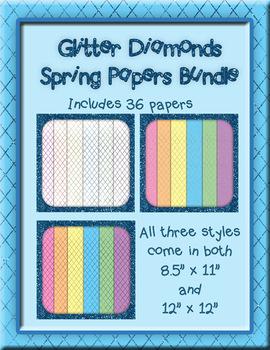Glitter Diamond Papers
