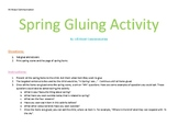 Spring Gluing Activity