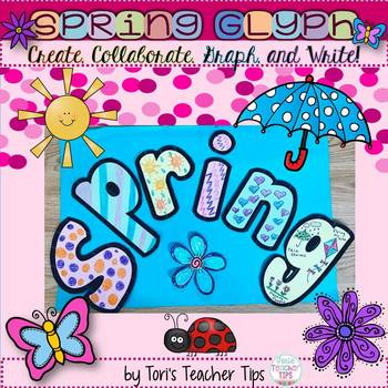 Spring Glyph~ Graphing~Writing~and More! {Grades 1-4}
