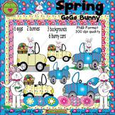 Spring GoGo Bunny ClipArt