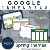 Spring Google Slide Templates | Editable | Bundle