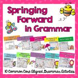 Spring Grammar Centers: Springing Forward in Grammar