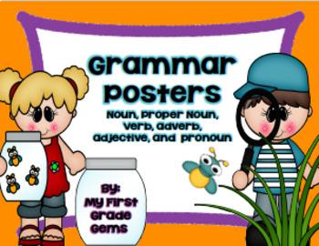 Spring Grammar Posters