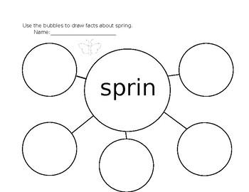 Spring Graphic Organizer