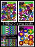 Spring Graphics Bundle {Creative Clips Digital Clipart}