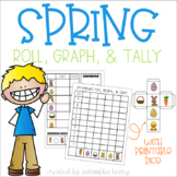 Spring Graphing Activity: Roll, Graph, & Tally