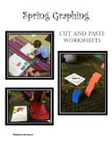 Spring Graphing Cut and Paste Worksheets