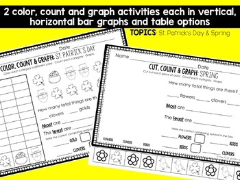 Graphing Worksheets for Spring