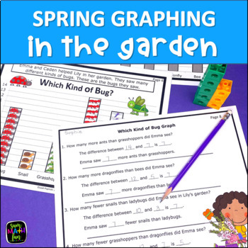 Spring Graphing First Second Grade