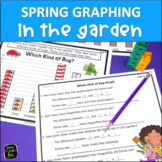 Spring Math - Graphing in the Garden - First & Second Grades
