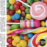 Candy & Sweet Graphs Perfect for SPRING!