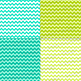 Spring Green and Blue Digital Paper