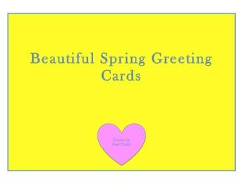 Spring Greeting Cards