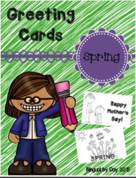 Spring Greeting Cards - English