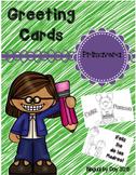 Spring Greeting Cards - Spanish
