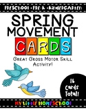 Spring Gross Motor Skill Movement & Brain Break Cards