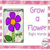 Spring Grow a Flower Sight Words